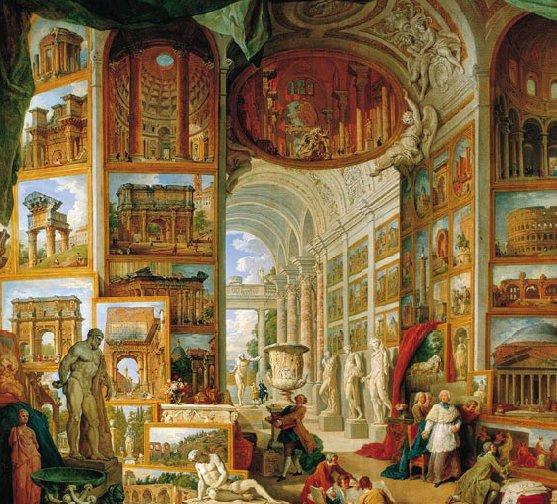 Rome Galeria: Gallerie Di Vedute Di Roma